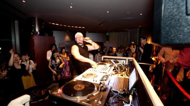 US3 DJ UNIT x BCBGMAXAZRIA Fashion Show @ The Peninsula Tokyo